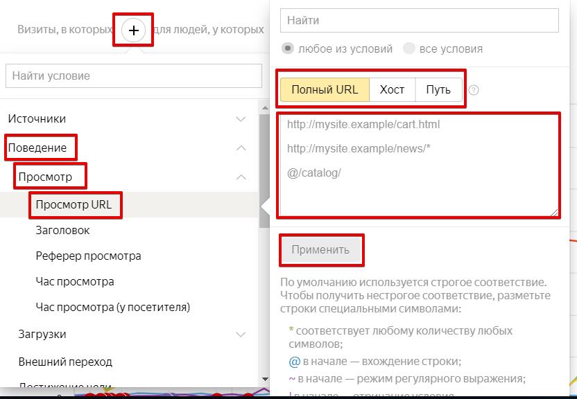 Сегмент Посещаемость в Яндекс.Метрике