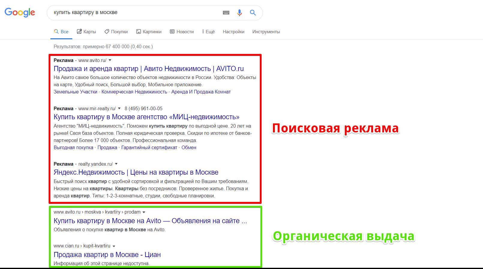 Поисковая контекстная реклама в Google